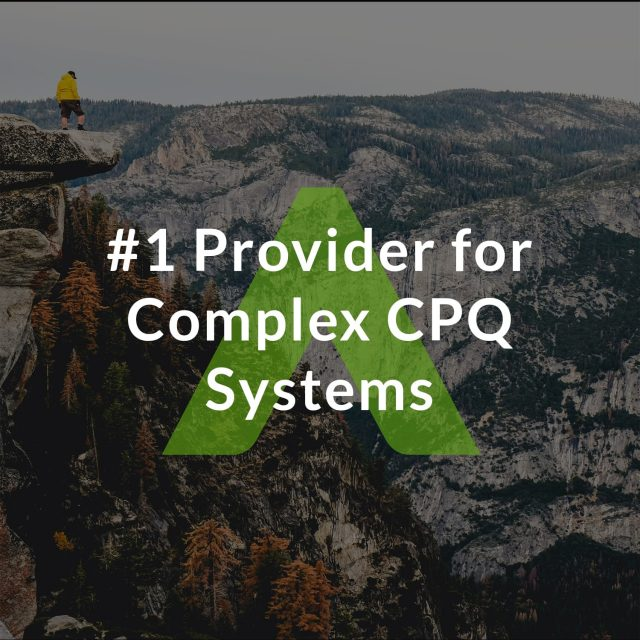 #1 Provider for Complex CPQ Systems